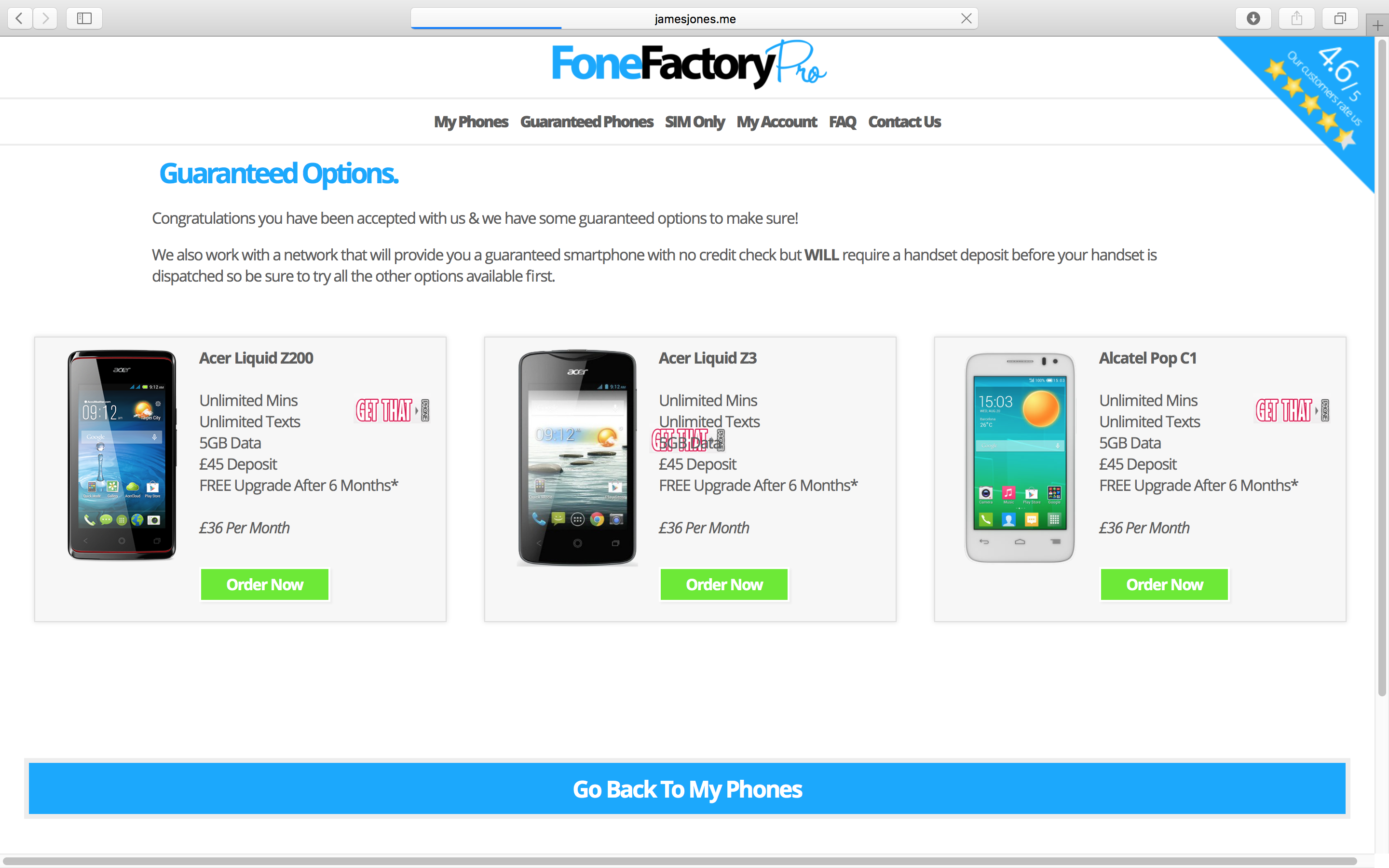 Fone Factory Pro Phones