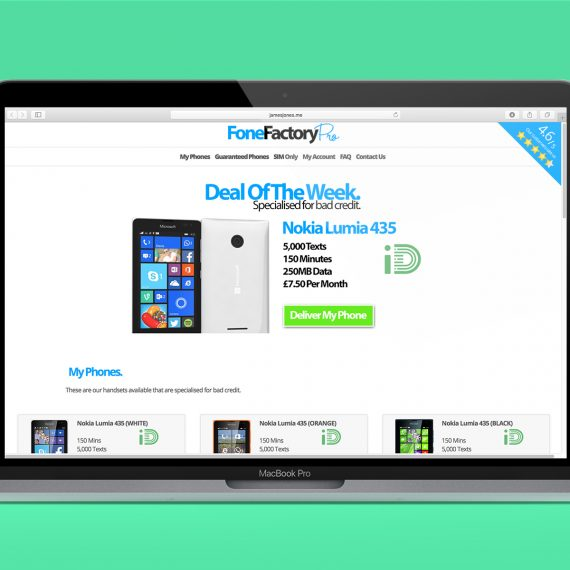 Fone Factory Pro Guaranteed Mobile Phone Contract